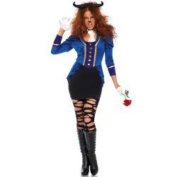 Disfraz de la Bella y la Bestia marca Leg Avenue compuesto de 3 piezas