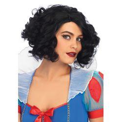 Leg Avenue Peluca de fantasía de pelo corto y rizado para tus disfraces
