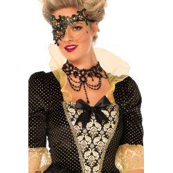 Lujoso disfraz para carnaval Leg Avenue de Fantasía Enmascarada 2 pcs