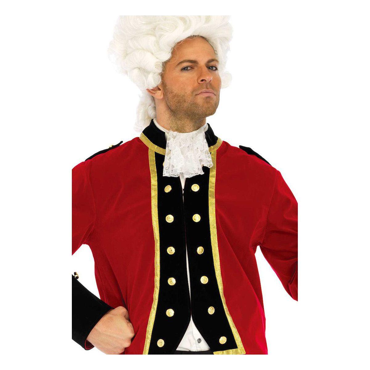 Disfraz masculino carnaval de época de Versalles de 2 piezas Leg Avenue