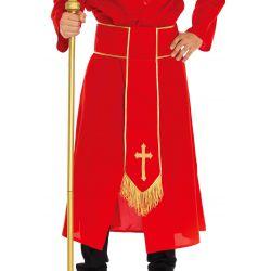 Disfraz masculino de Cardenal de la Iglesia Leg Avenue Luxury
