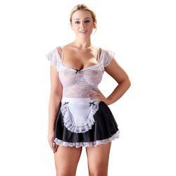 Hacer las tareas del hogar ahora serán más divertidas con este uniforme de chacha