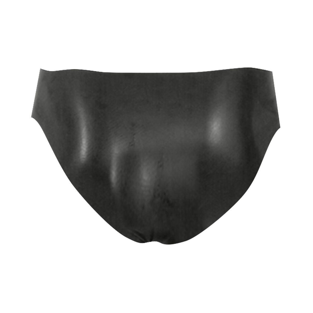 Slips masculinos fabricados en látex con abertura al frente