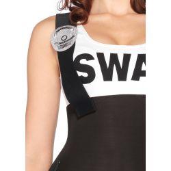 Uniforme de sargento de SWAT 3 piezas de Leg Avenue