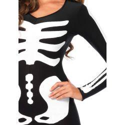 Leg Avenue disfraz sexy de mujer esqueleto luminoso