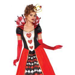 Disfraz de Leg Avenue Reina de los Corazones para Carnaval de 2 pzs