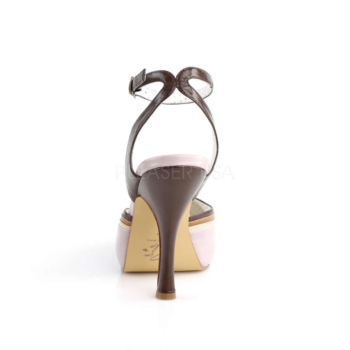 Sandalias americanas de estilo Pin Up con correa al tobillo cruzada
