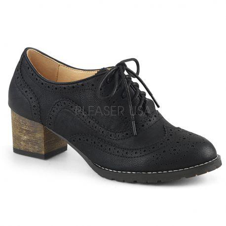 f363487341 Zapatos para mujer colección Pin Up de diseño masculino estilo Oxford