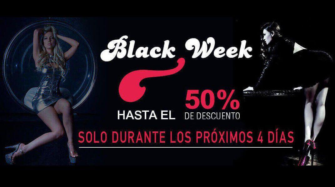 Rebajas Black Week -45% Solo durante 4 días